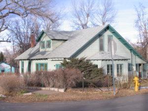 Bemis House prior to restoration