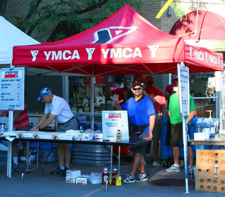 YMCA booth on Festival Day
