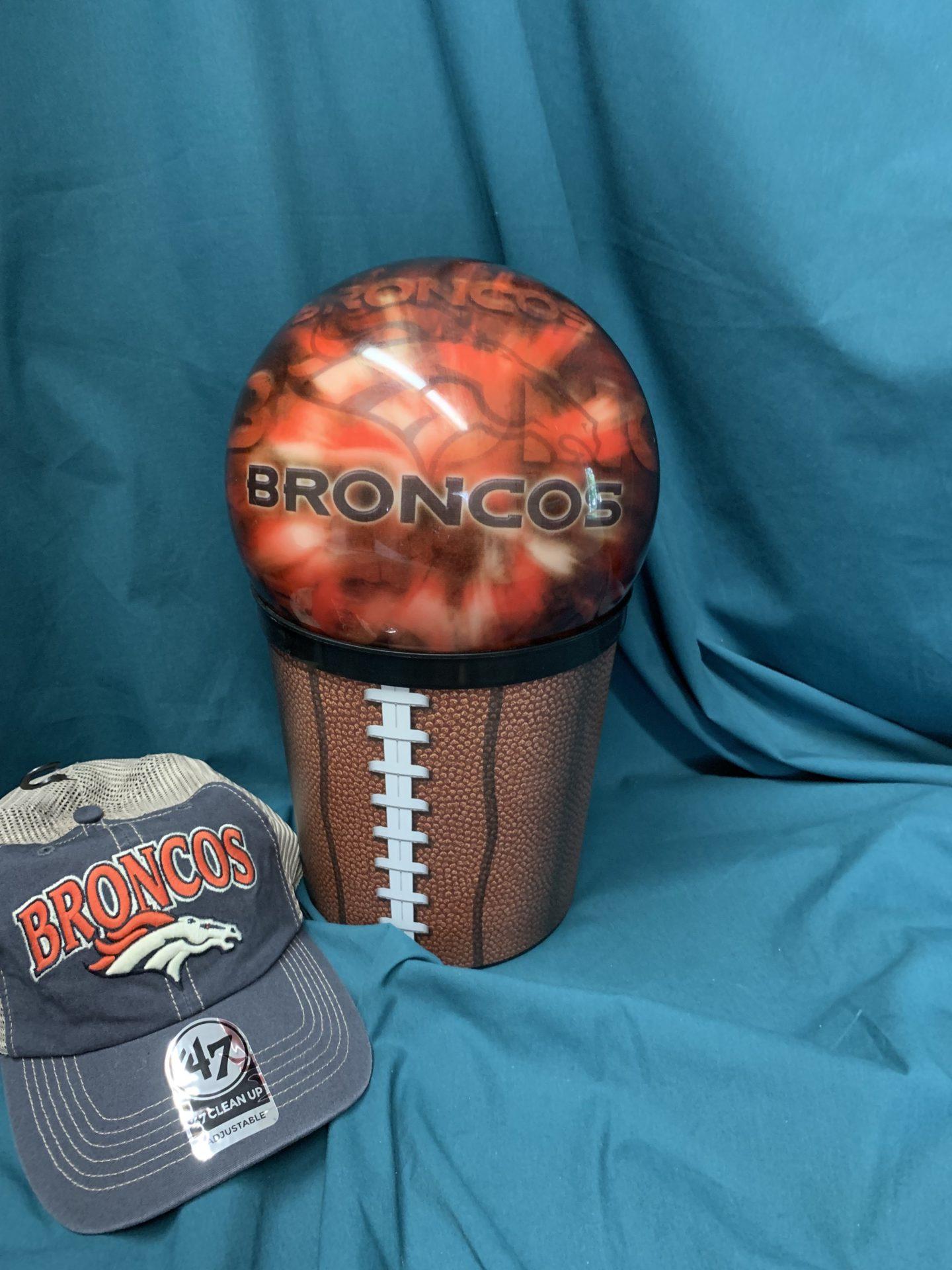113 Broncos Bowling set