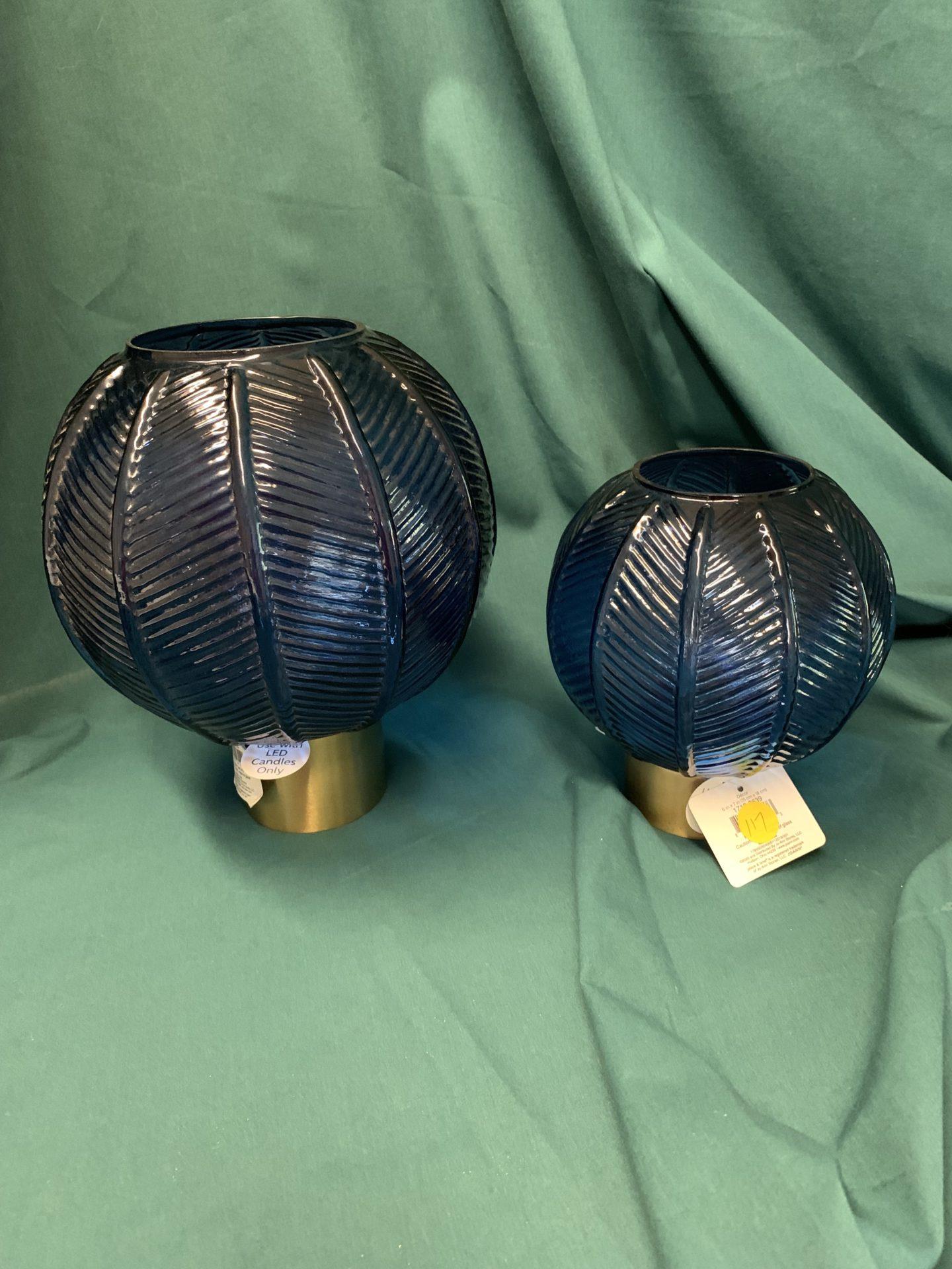117 Blue patio globes 2