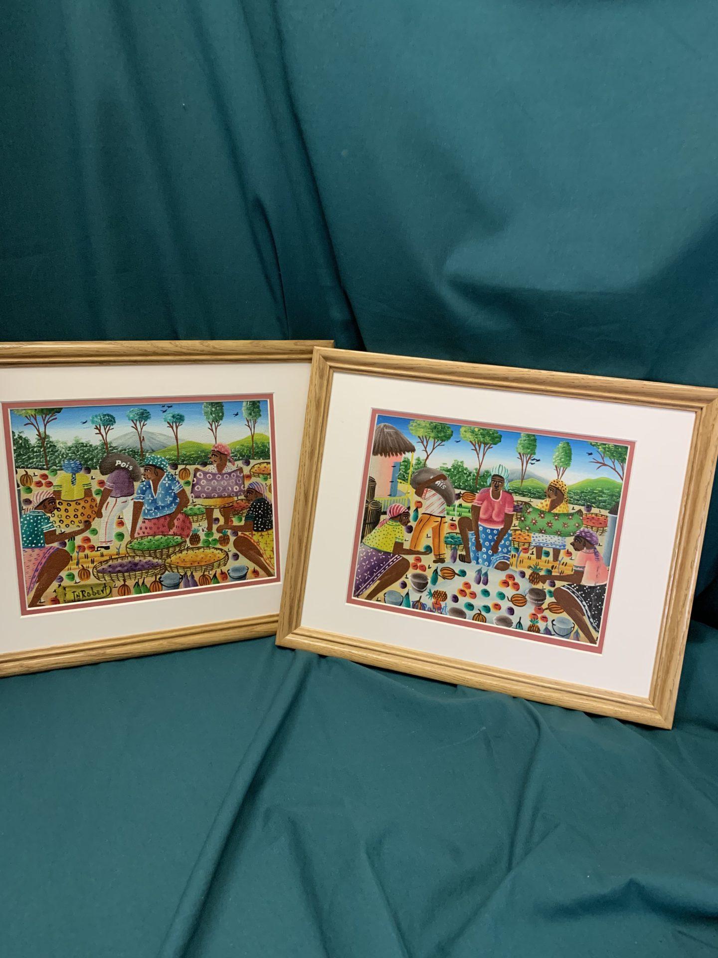 119 Jamaican paintings