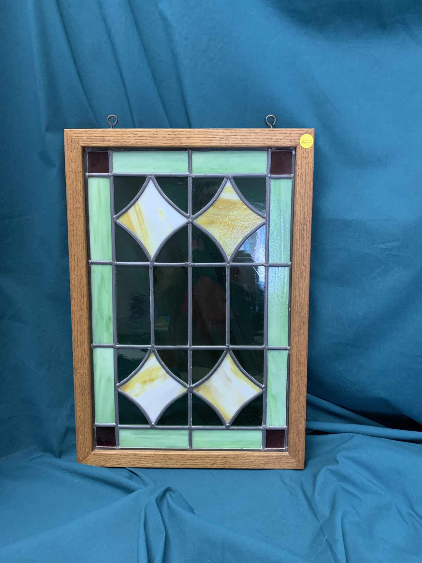222 Stained Glass hanging